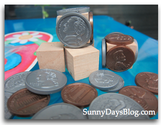 DIY Money manipulatives