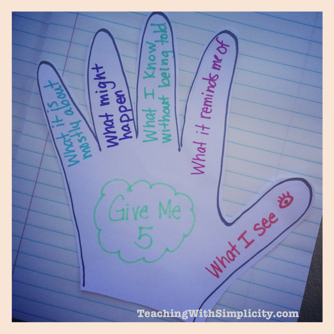 Differentiated Instruction with Give Me 5 Strategy