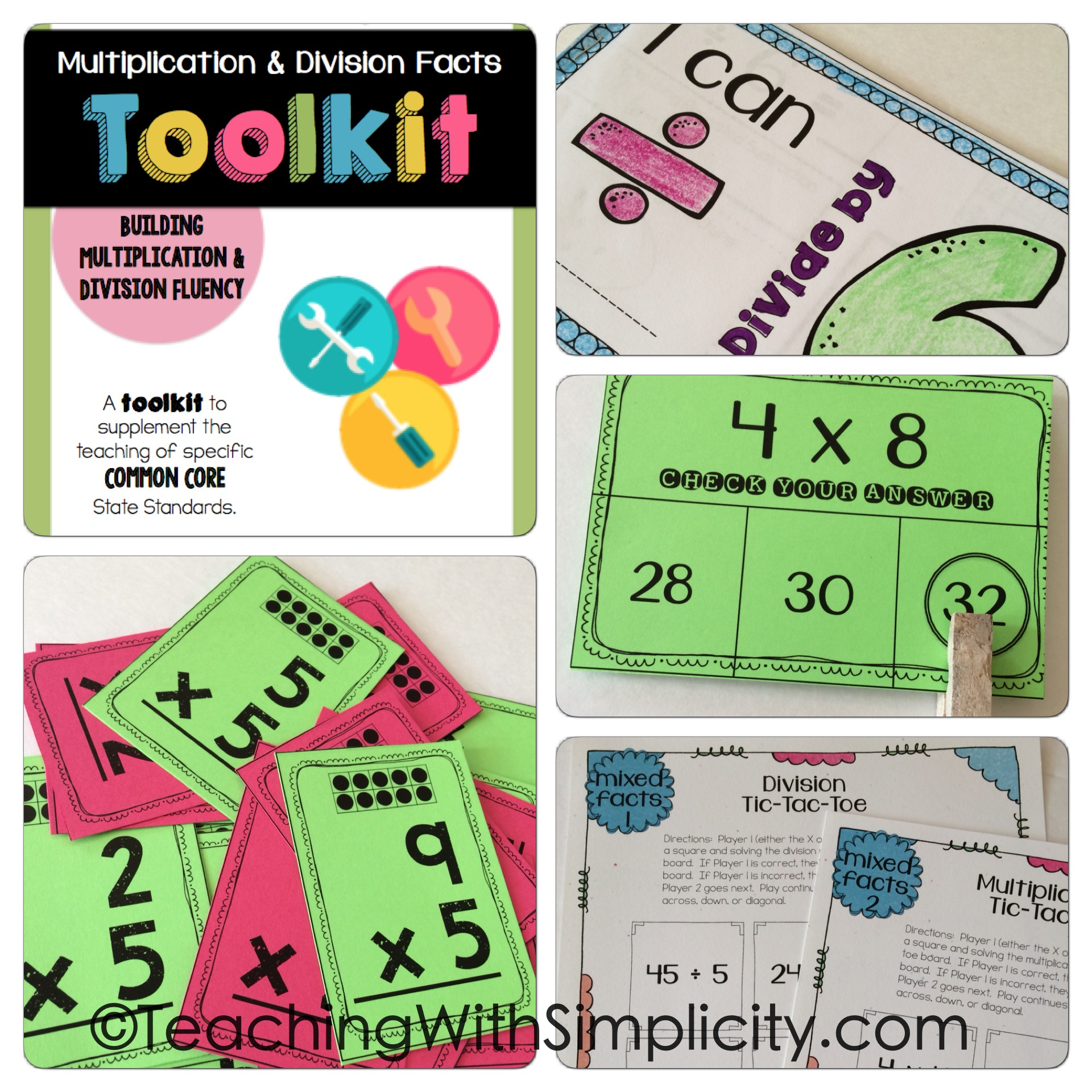 10 Ways to Practice Multiplication Facts - Teaching With Simplicity
