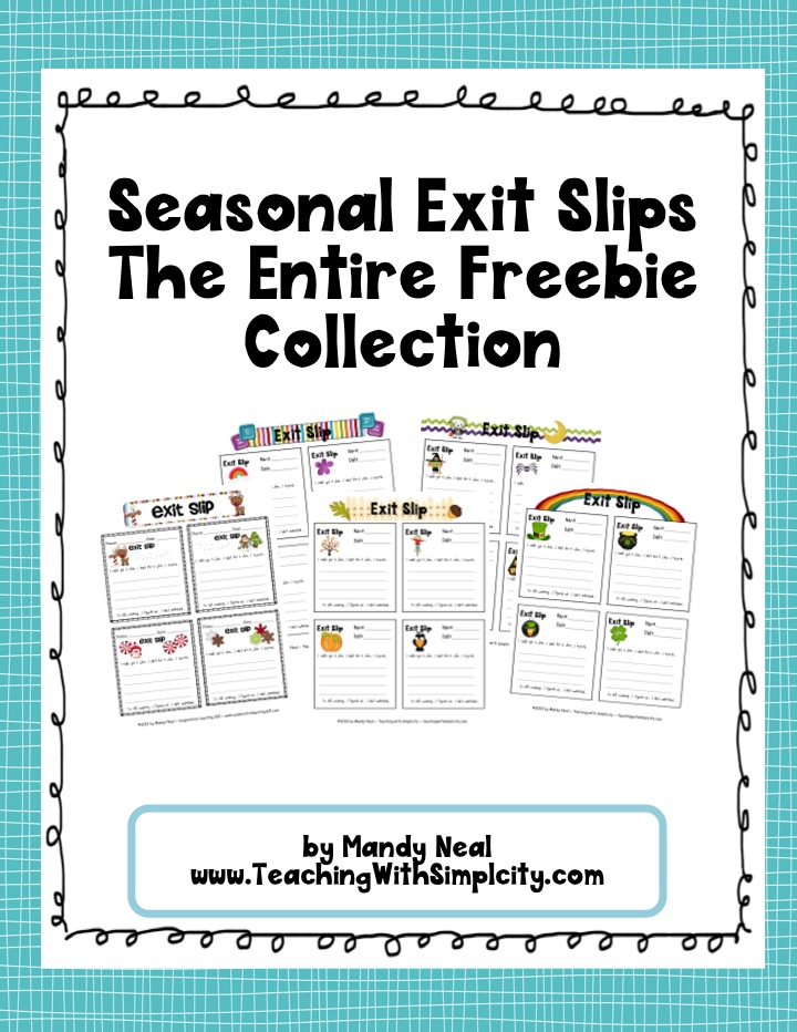 Should You Be Using Exit Slips In Your Classroom My Town Tutors
