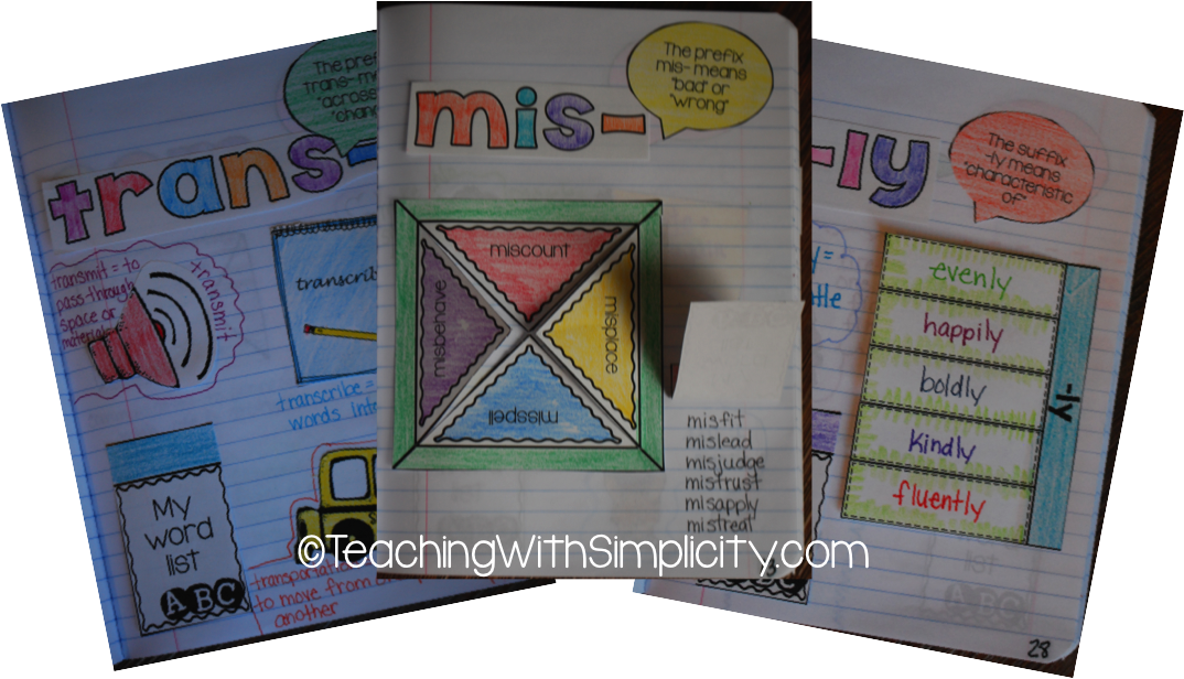 Freebie interactive word work notebook teaching with simplicity