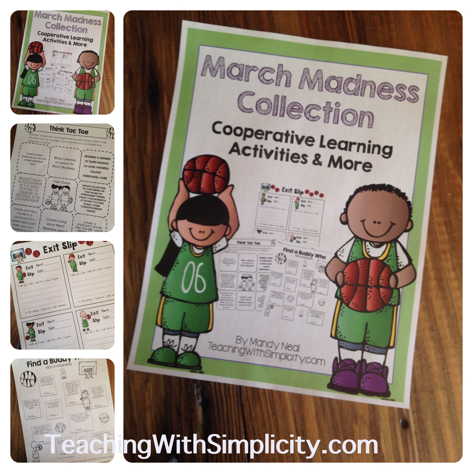 March Madness Free Printables