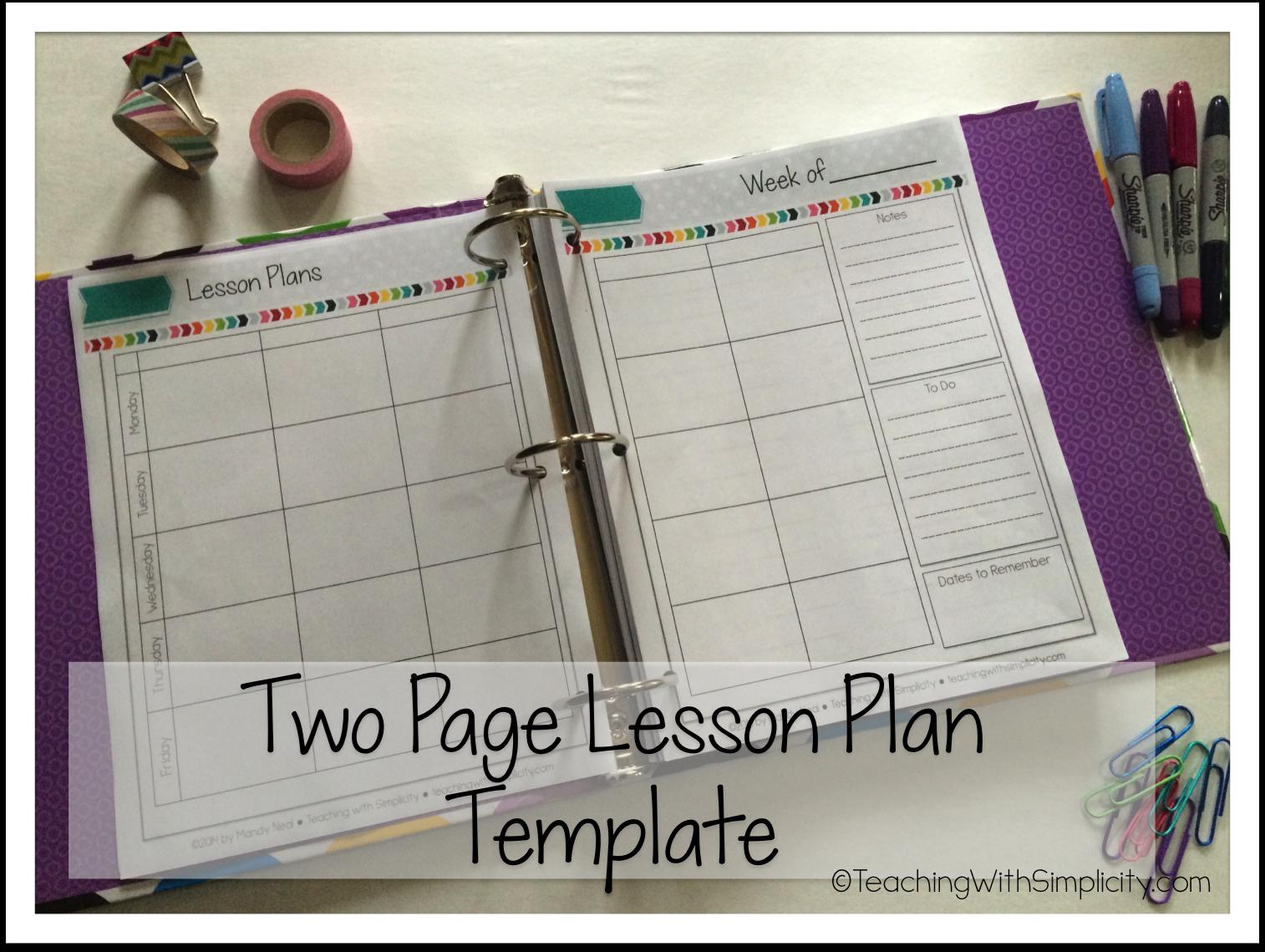 All-in-one Teacher Planner 3