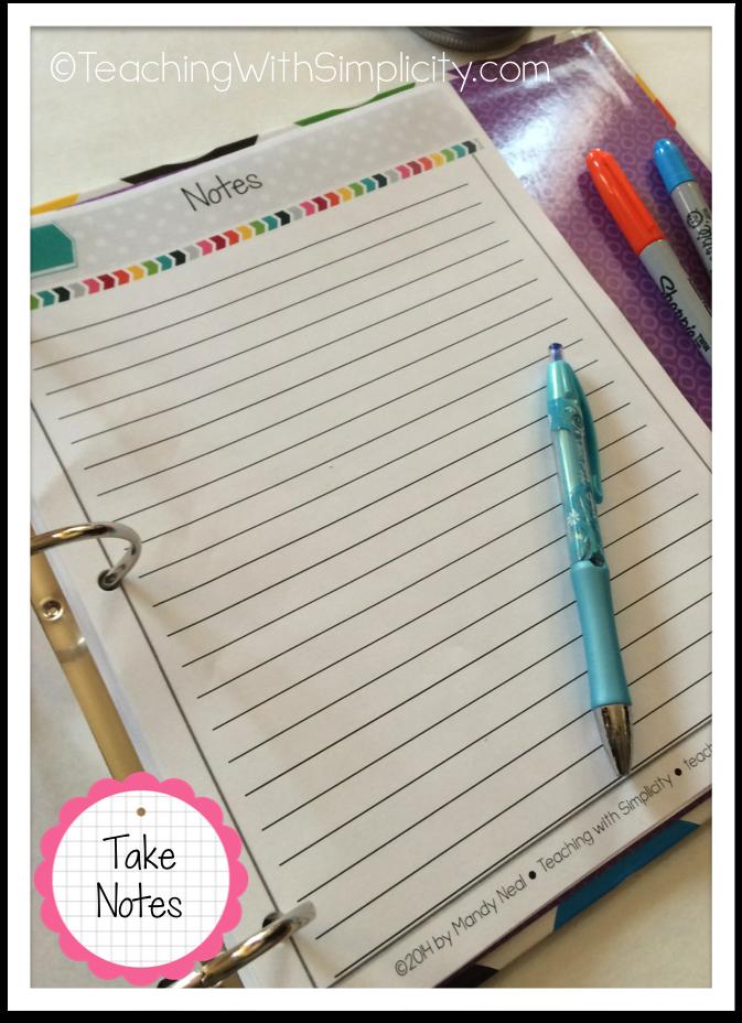 All-in-one Teacher Planner 4