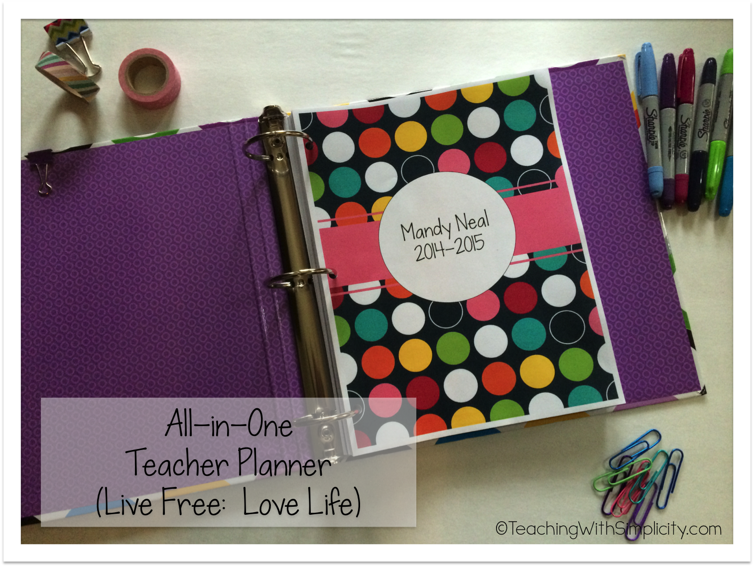 All-in-one planner 9