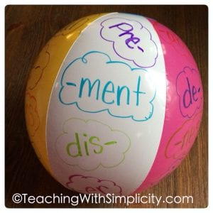 practicing prefixes and suffixes - tips for differentiation