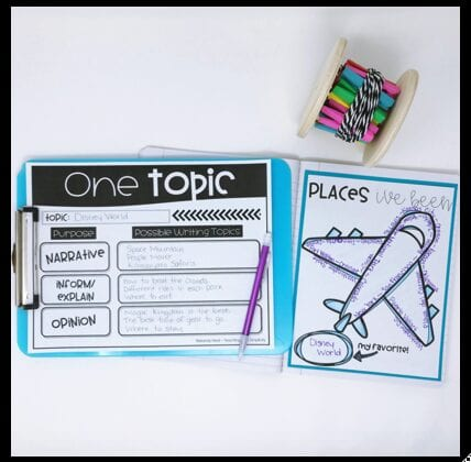 list writing for students to generate topics