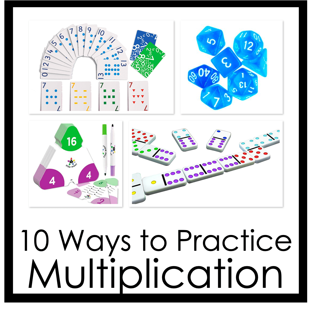 , 10 Ways to Practice Multiplication Facts