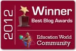 blog award winner 2012