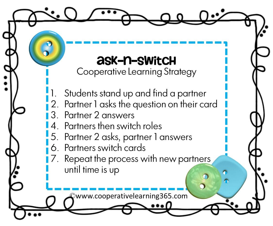ask n switch educational activity how to