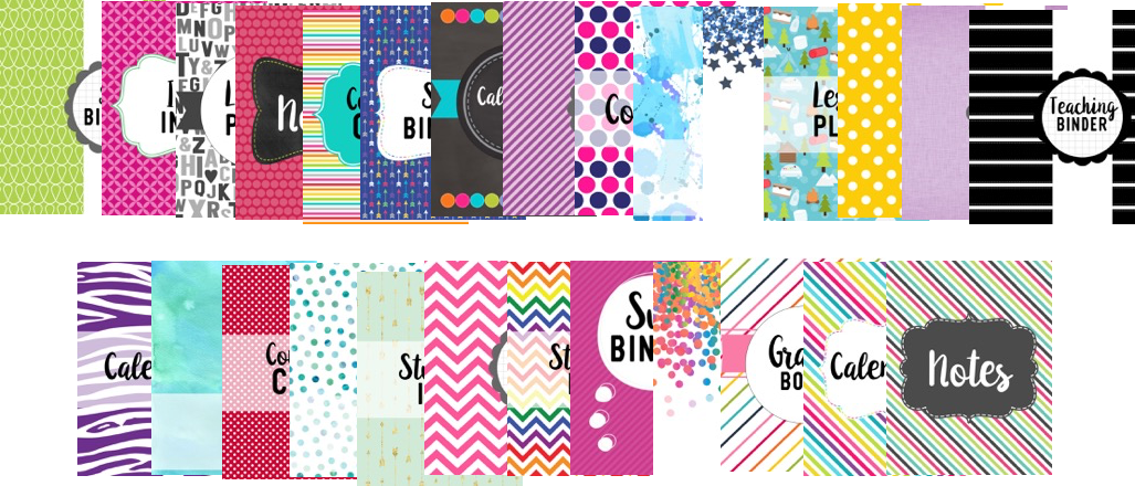 Binder cover options