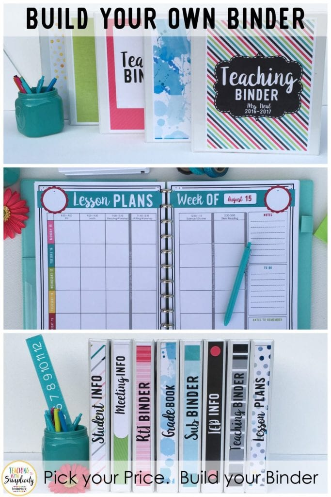 , Build Your Own Binder