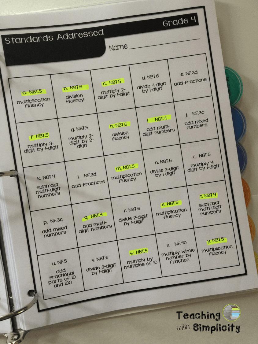 Diagnostic for Computational Fluency 2