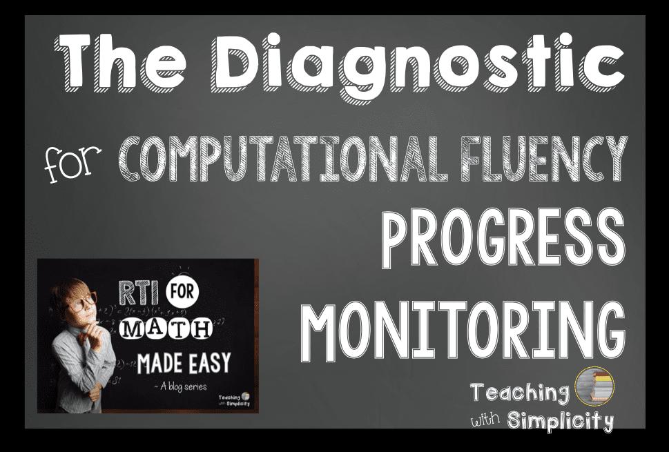 Diagnostic for Computational Fluency