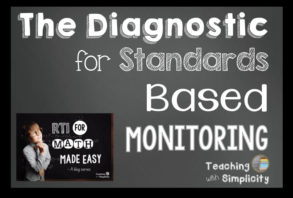 Diagnostic for Standards Based Monitoring