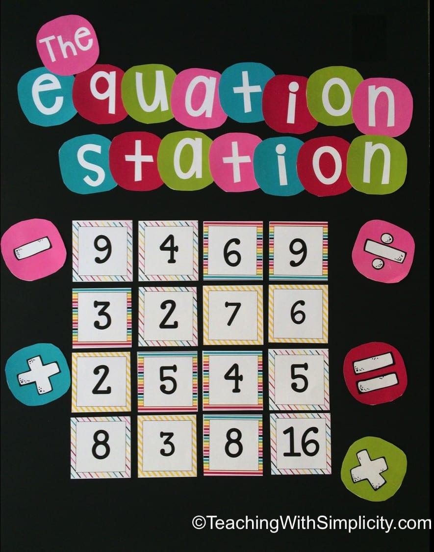 Equation Station1