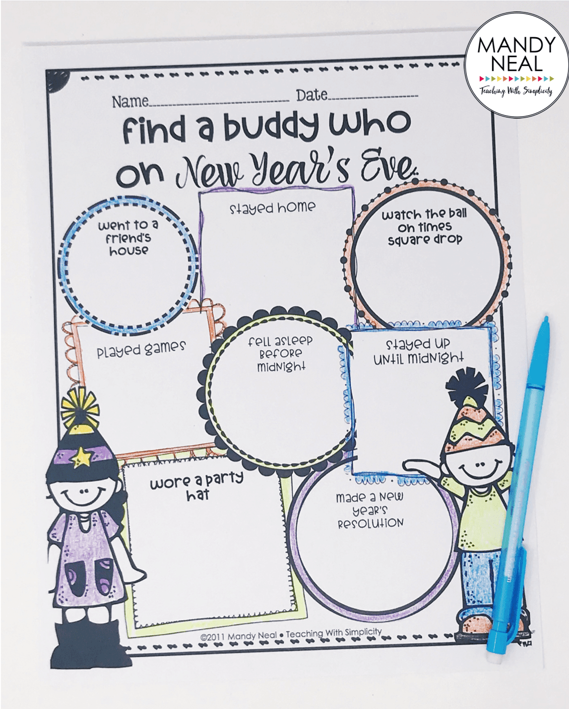 , 5 New Year Activities for the Classroom