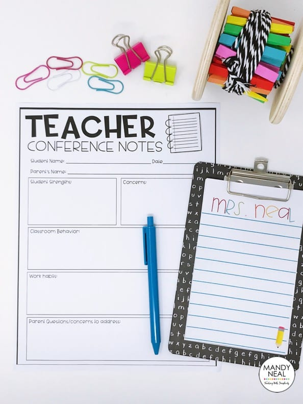 , How to Keep Your Sanity During Parent-Teacher Conferences
