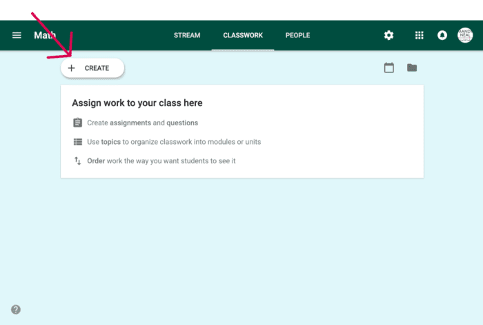 , How to Create a Google Classroom Assignment From Drive