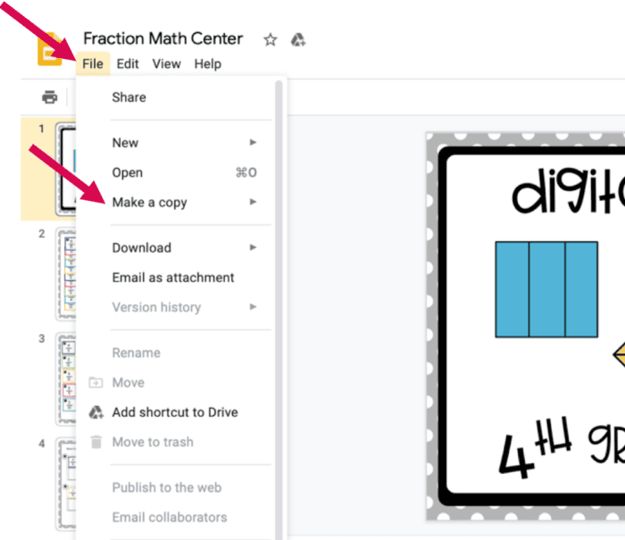 , Gaining Access to Google Slides and Google Forms