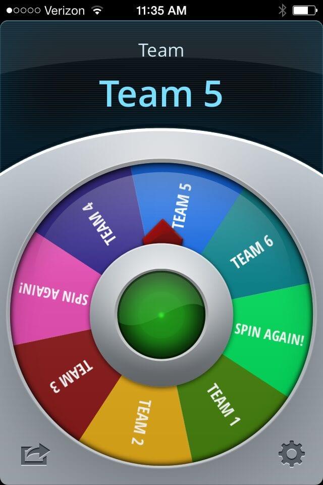 Spin on Choosing