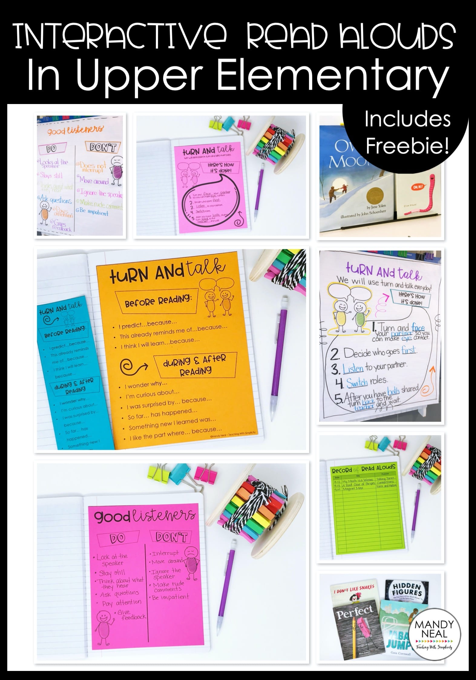 , Interactive Read Alouds in Upper Elementary