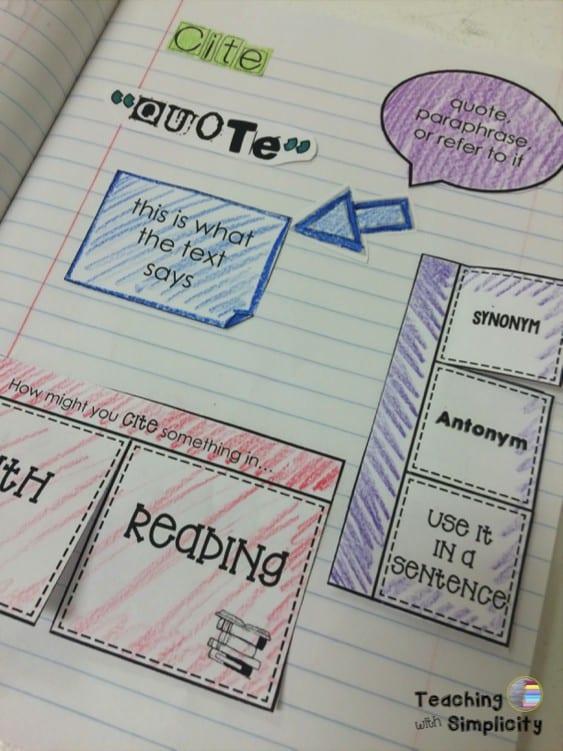Interactive Test Prep Vocabulary