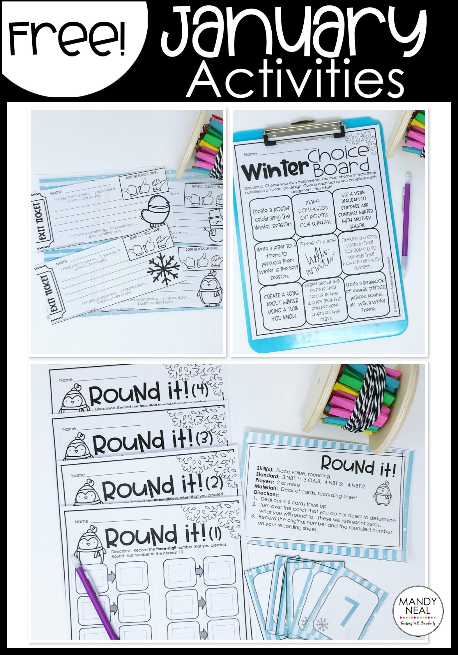 , January Teaching Resources