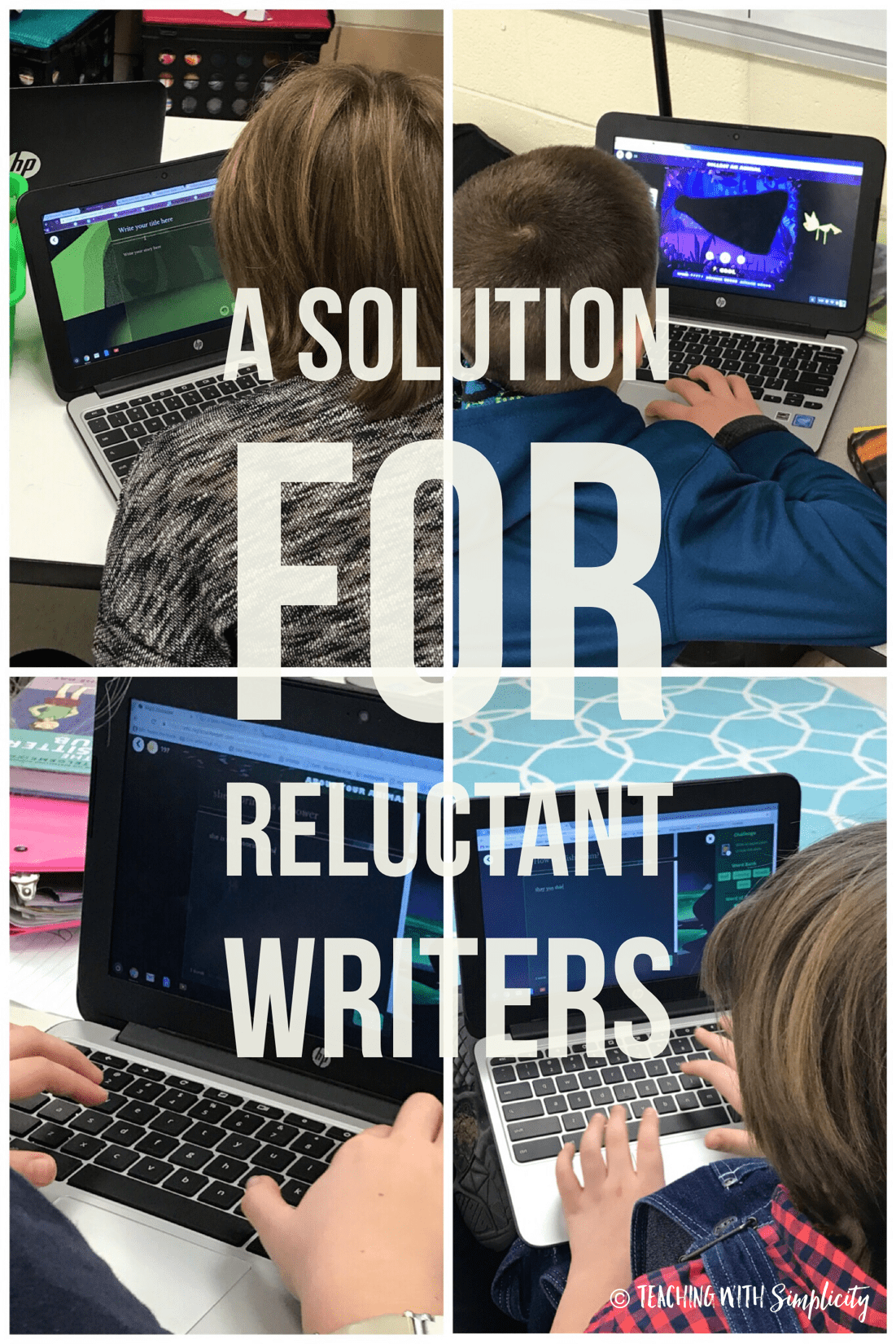 , A Solution for Reluctant Writers