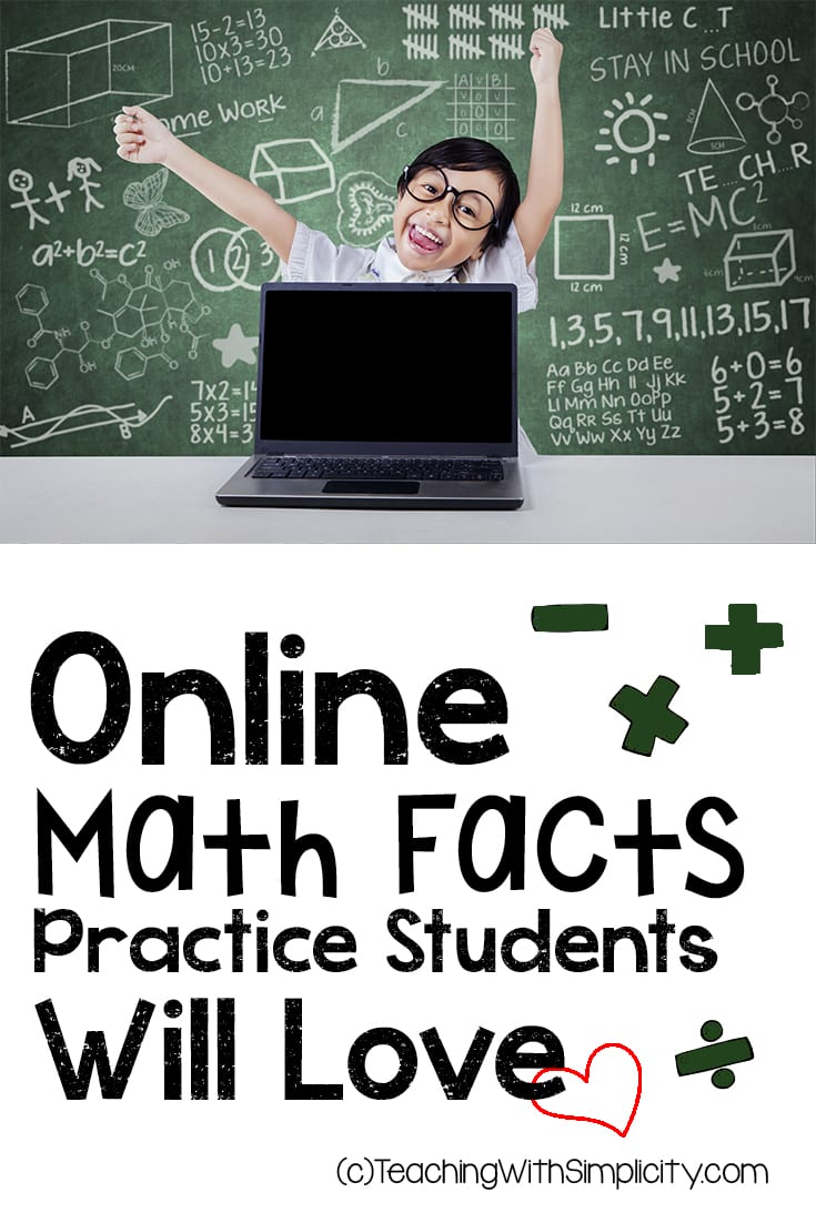Online Math Fact Practice