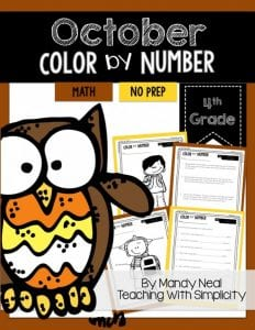 , October Teaching Resources