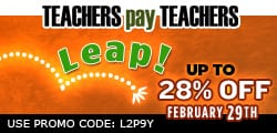 teacher appreciation sale