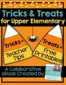 Tricks and Treats for upper elementary UES book