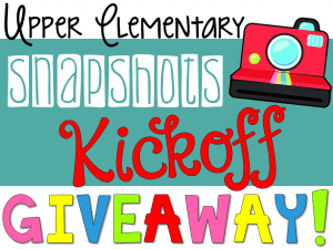 ues giveaway for upper elementary