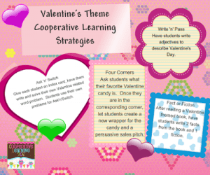 valentine's day cooperative learning