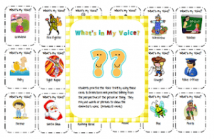 what's my voice