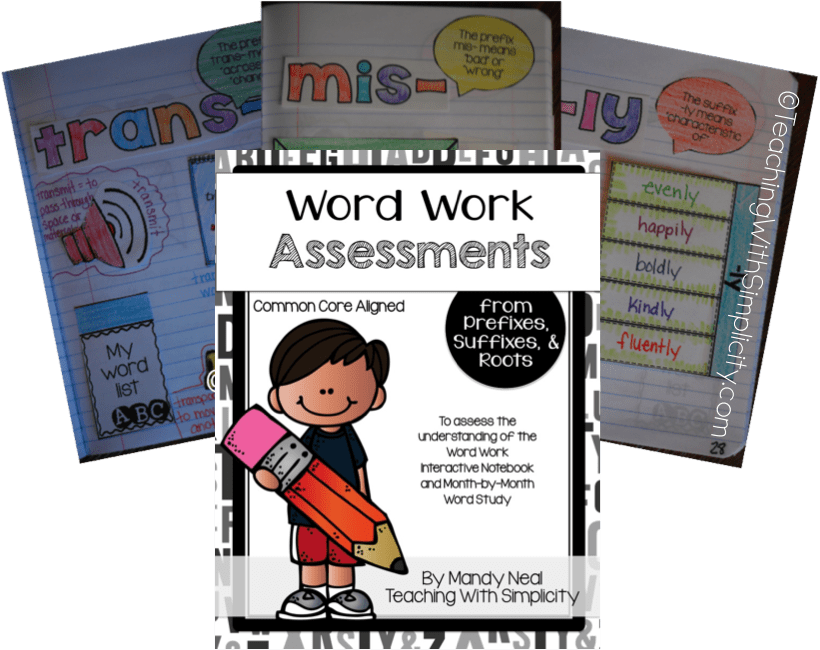 Word assessments