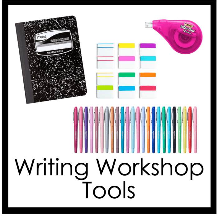 , Writer's Notebook:  My students have a list, now what?