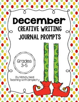 december creative writing journal prompts