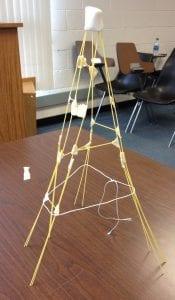 marshmallow tower