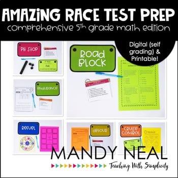 , Amazing Race Test Prep Edition
