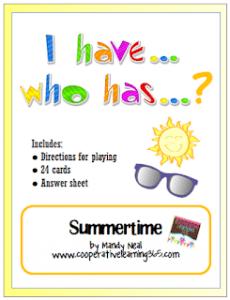 write n pass summertime freebie