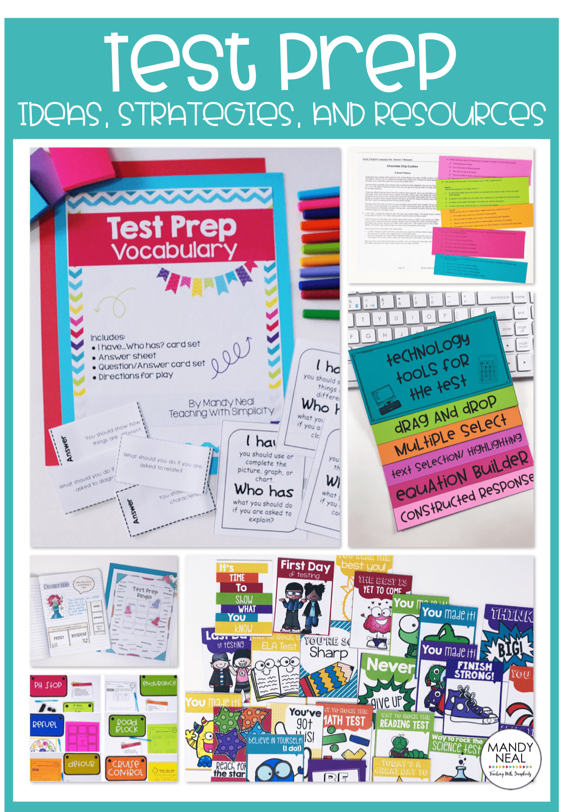 , Test Prep Ideas, Strategies, and Resources
