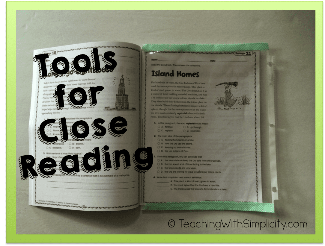 tools for close reading 7