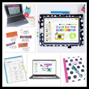 End of the year activities, freebies, and gift ideas for students